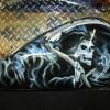 custom harley davidson paint nh