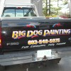 truck lettering on ford by nelson signs NH