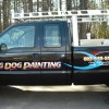 truck lettering NH ford