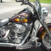 Harley Davidson paint job NH